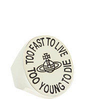 Vivienne Westwood - Too Fast To Live Oval Orb Ring