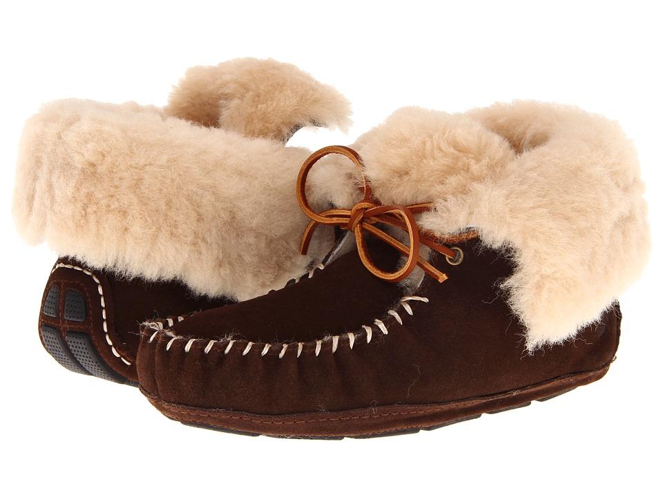 Acorn Sheepskin Moxie Boot Dark Chocolate Womens Boots