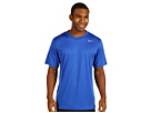 Nike Legend Dri-FIT Poly S/S Crew Top (Game Royal/Carbon Heather/Medium Grey) Men's Short Sleeve Pullover