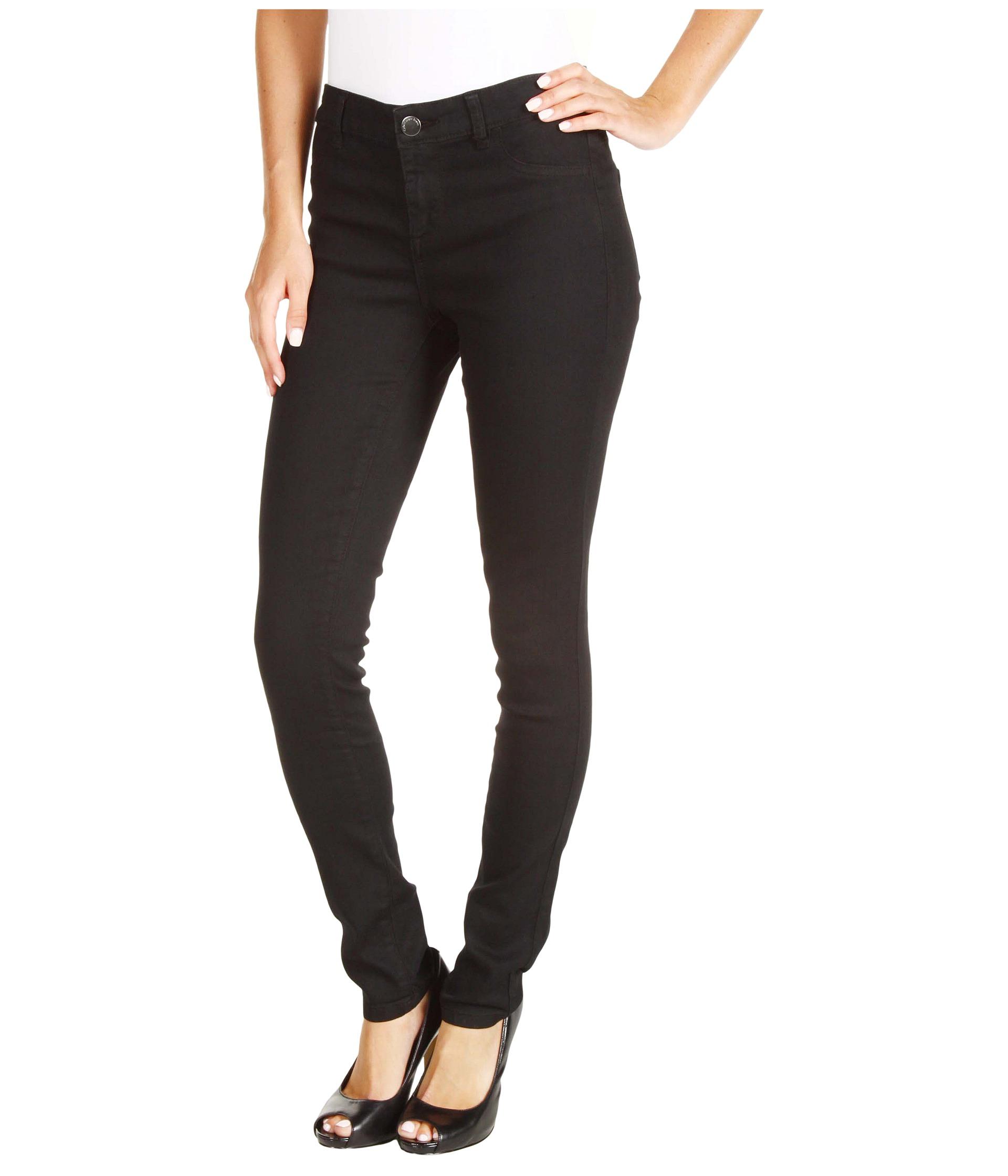 calvin klein jeans powerstretch denim legging in black shipped free at zappos. Black Bedroom Furniture Sets. Home Design Ideas