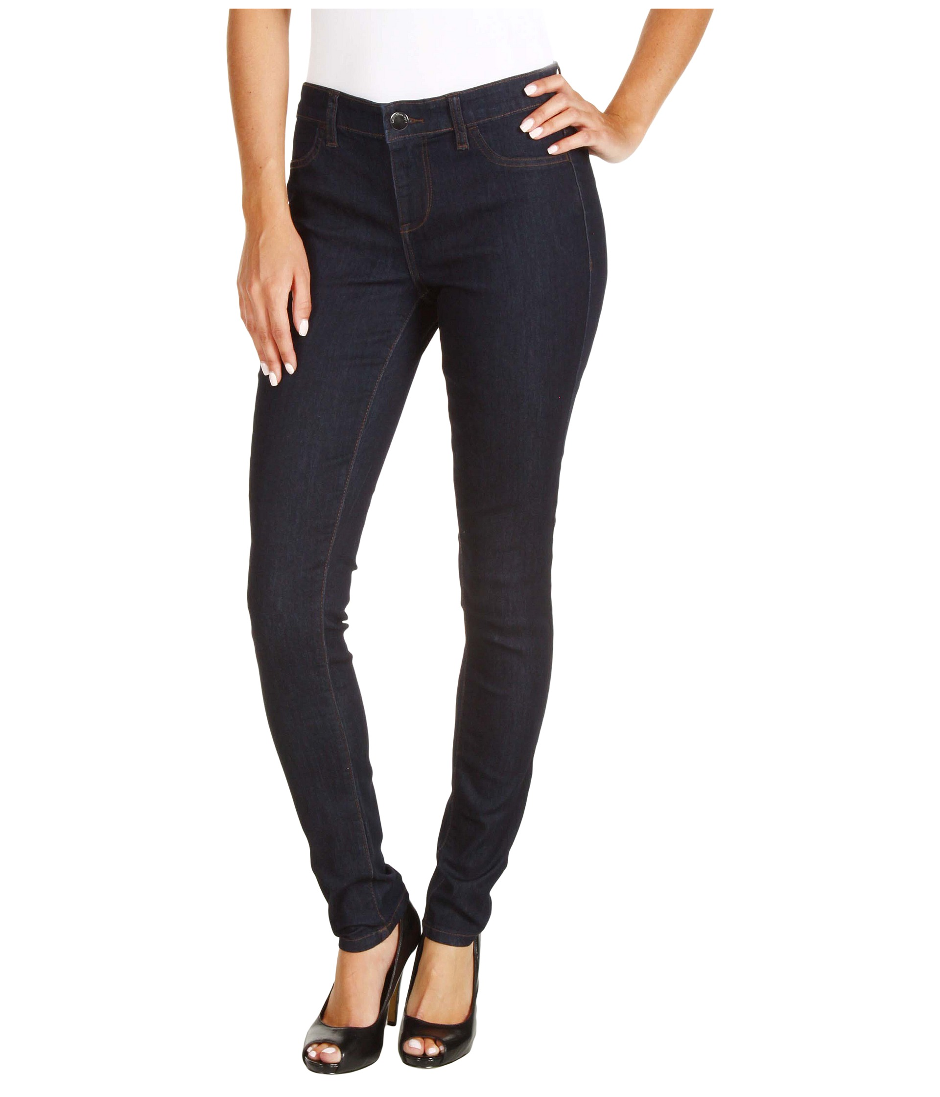 calvin klein jeans powerstretch denim legging in rinse shipped free at zappos. Black Bedroom Furniture Sets. Home Design Ideas