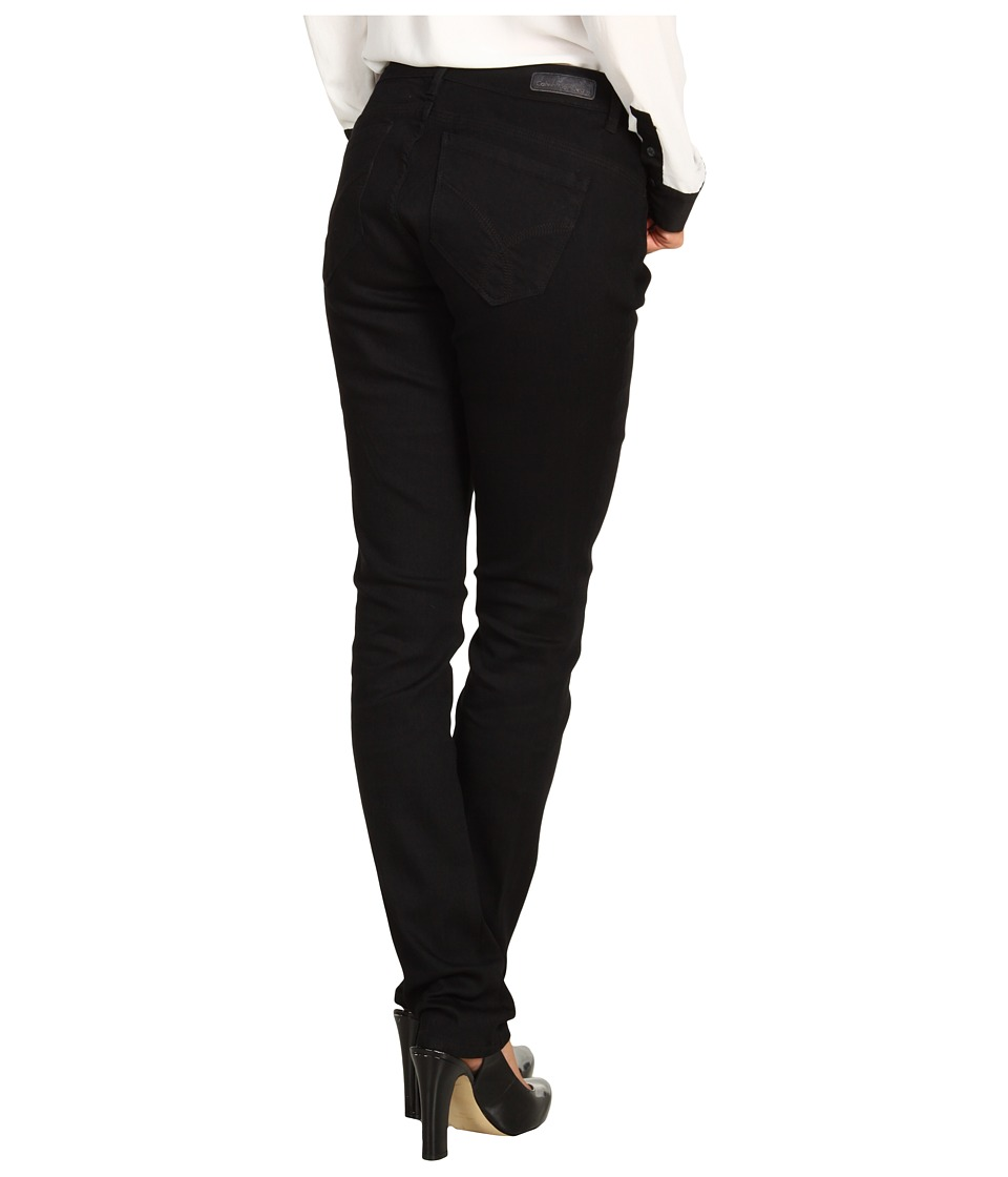 Calvin Klein Jeans Powerstretch Curvy Skinny Denim in Black (Black) Women