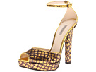 Bottega Veneta - 302593VX720 8419 (Gold/Nero) - Footwear