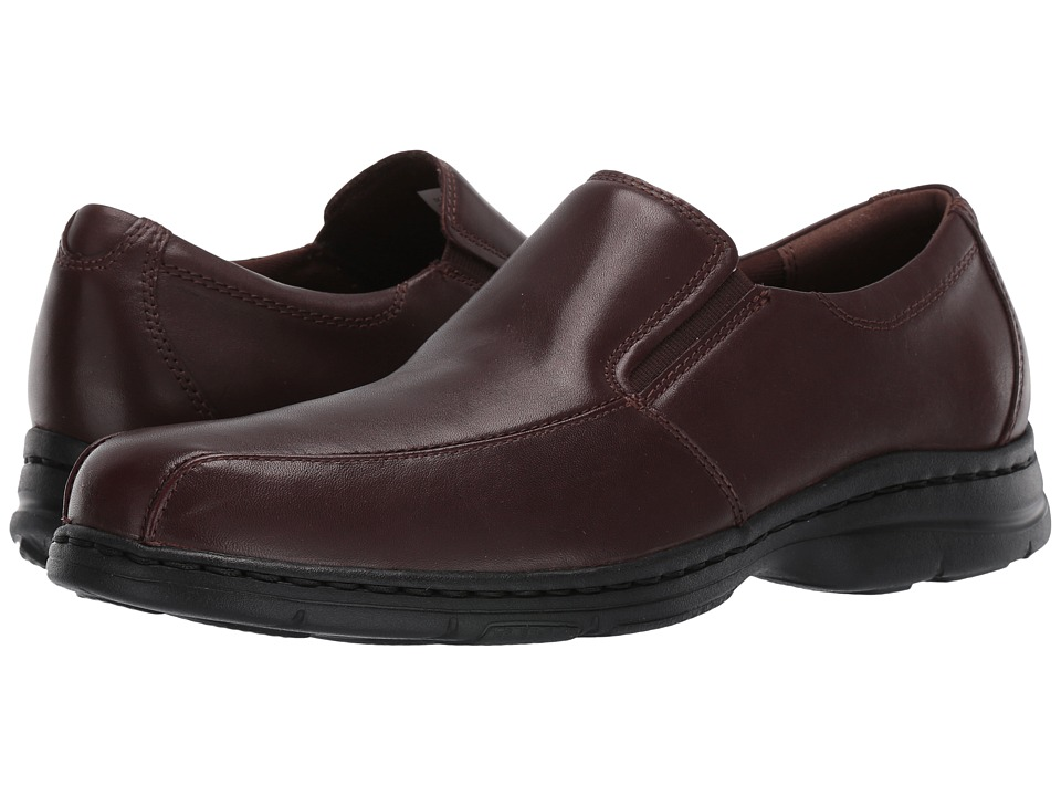 Dunham Blair Twin Gore Slip On (Brown Smooth) Men