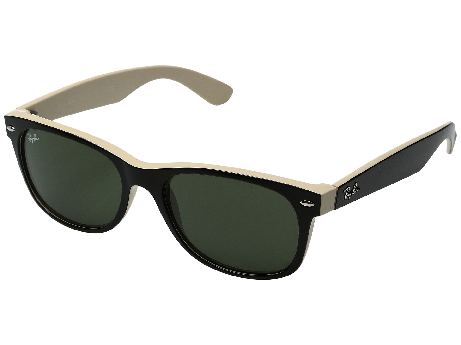 ... ray ban new wayfarer 55mm matte tortoise ...