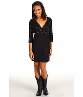 Rock and Roll Cowgirl - 3/4 Sleeve Knit Dress