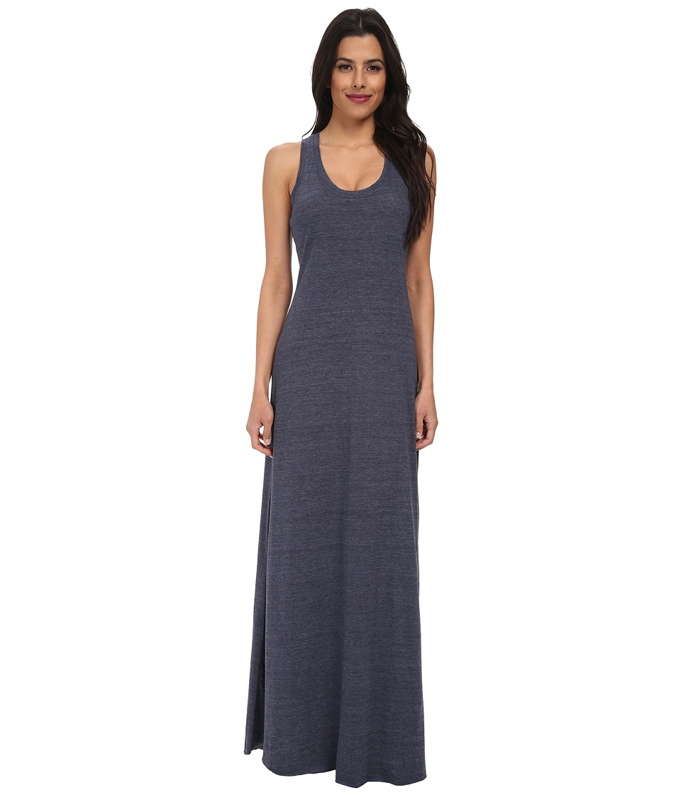 Alternative - Racerback Maxi Dress (Eco True Navy) Womens Dress