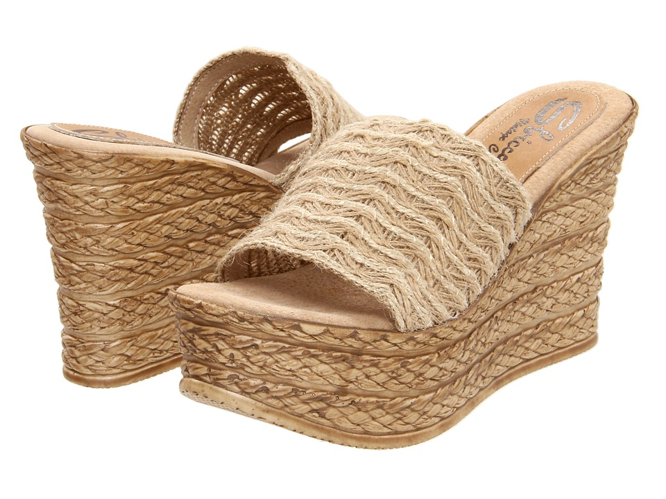 Sbicca Cabana (Natural) Women's Sandals