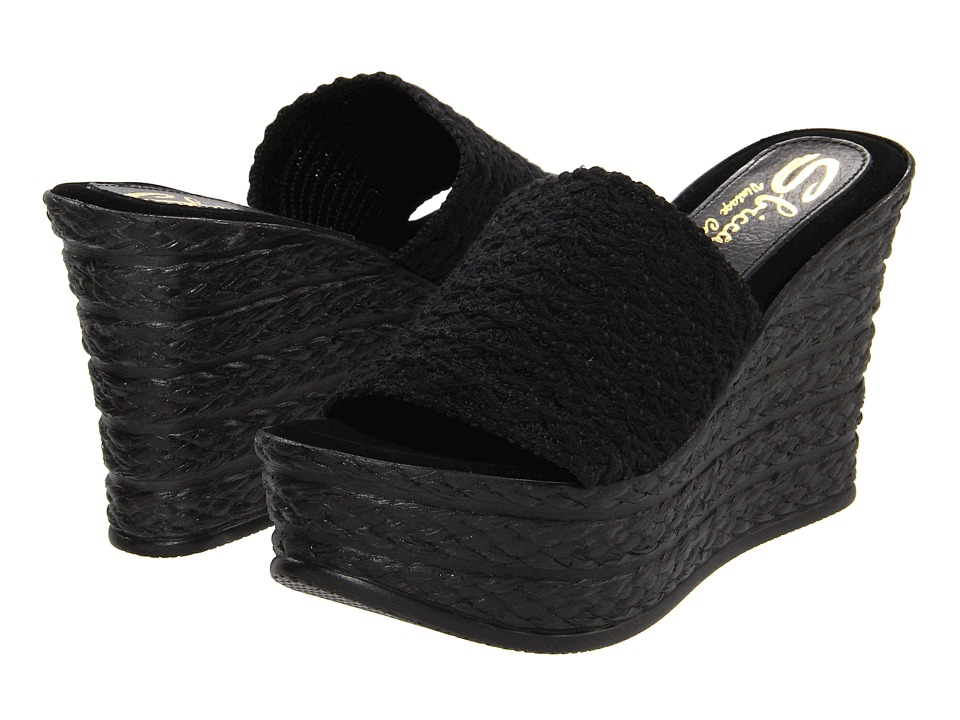 Sbicca Cabana (Black) Women's Sandals