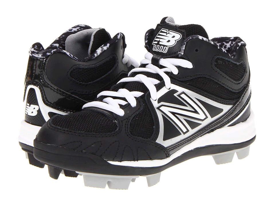 New Balance Kids YB3000 (Little Kid/Big Kid) (Black/Silver) Kids Shoes