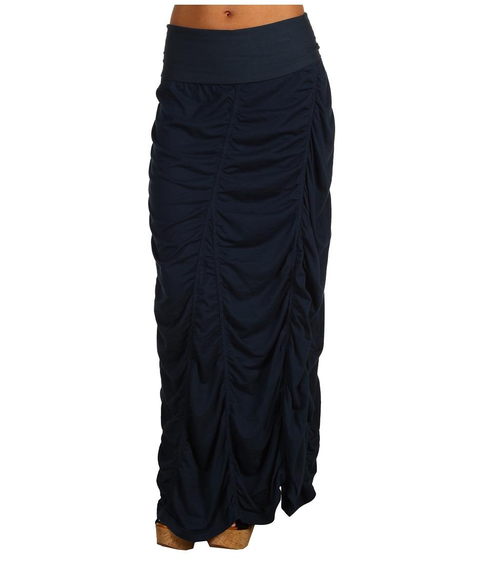 XCVI Jersey Peasant Skirt Midnight Womens Skirt