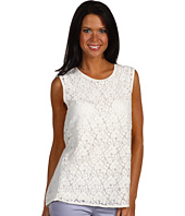 Joan Vass - Lace Double Layer Tank