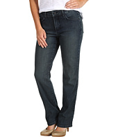 NYDJ Petite - Petite Marilyn Straightleg in Michigan Wash Stretch Denim