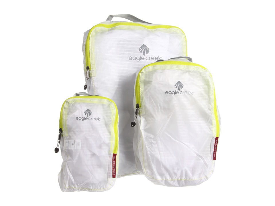 Eagle Creek - Pack-Ittm Specter Cube Set (White) Travel Pouch