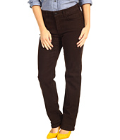 NYDJ Petite - Petite Marilyn Straightleg in Stretch Sueded Denim