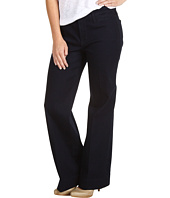 NYDJ Petite - Petite Greta Trouser with a Flare Leg in Denim