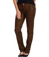 NYDJ Petite - Petite Sheri Skinny in Terra Tan Coated Denim