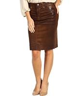 NYDJ Petite - Petite Emma Pencil Skirt in New Coated Denim