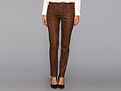 Sheri Skinny in Terra Tan Coated Denim