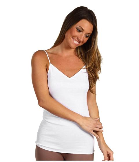 Cheap Hanro Cotton Seamless V Neck Camisole White