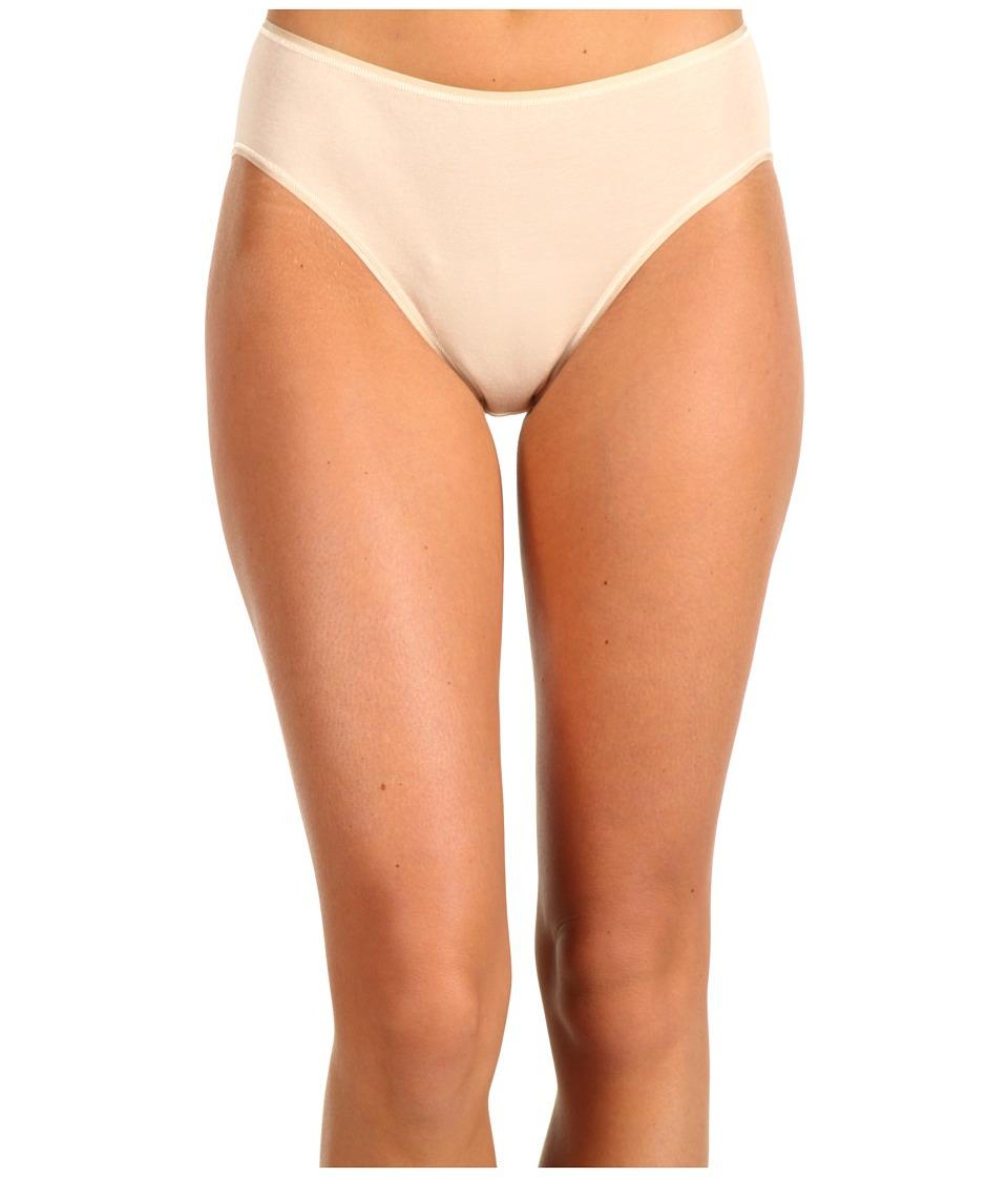 Hanro Cotton Seamless Hi Cut Full Brief 1626 Skin Womens Underwear