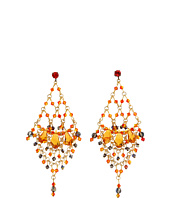 James Murray - Fire Opal Swarovski Crystal Earrings