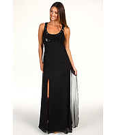 ABS Allen Schwartz - Sleeveless Sequin Dress w/ Key Hole Back Detail