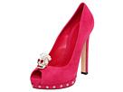 Alexander McQueen - Sandal Pelle S. Cu Daim Velour (Rose) - Footwear