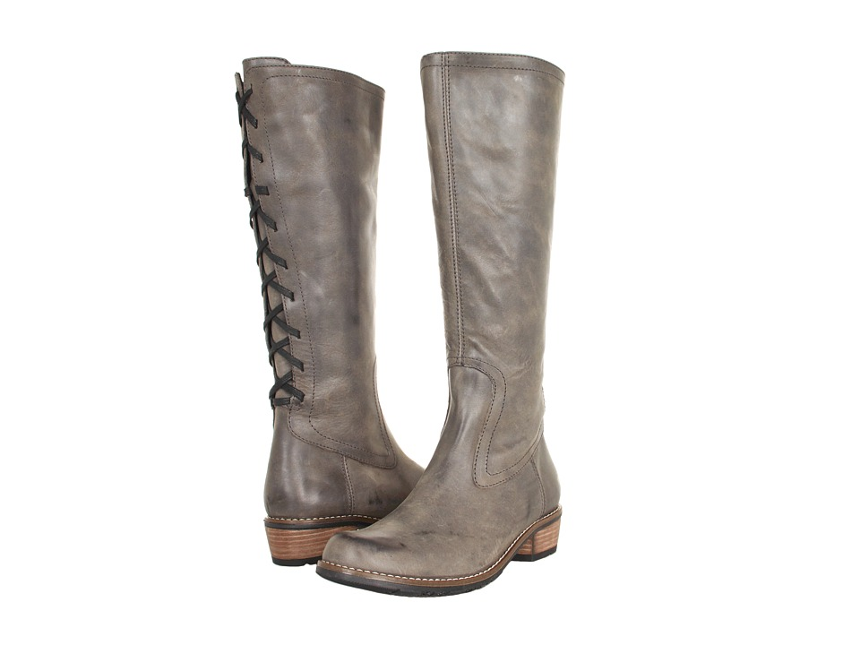Wolky Pardo Grey Vintage Leather Womens Boots