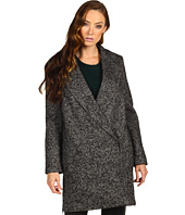 Tibi - Bonded Tweed Outerwear Tailored Boxy Coat