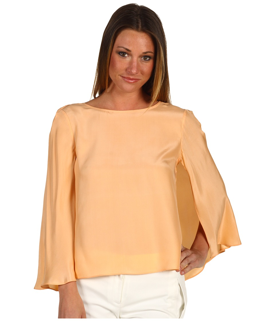 Kimberly Goldson LisBeth Peach Puff Womens Blouse