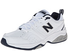 New Balance MX623v2 White, Navy Shoes