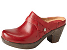 Klogs - Angie (Red Leather) - Footwear