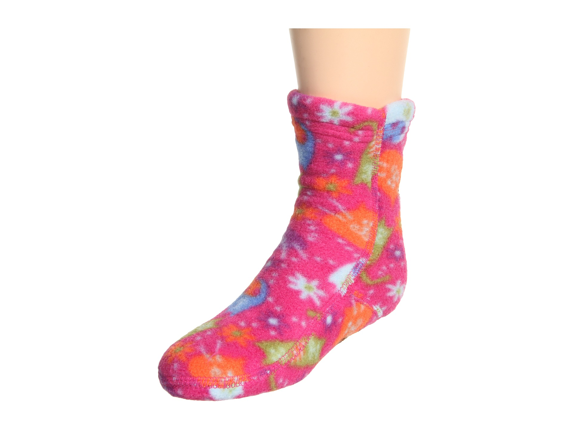Buy Cheap Acorn Kids Versafit Socks W Tread Toddler Youth Fat Cat Pink