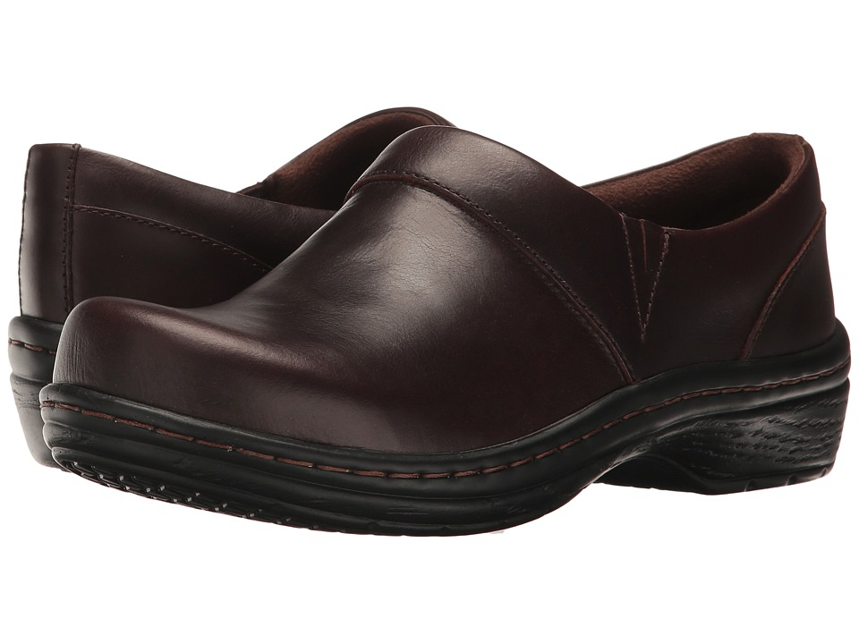 Klogs - Mission (Mahogany Smooth Leather) Women's Clog Shoes