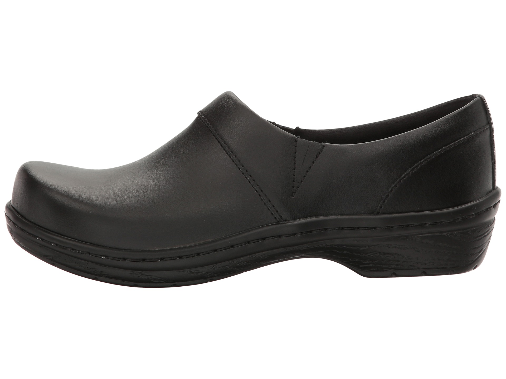 Klogs Footwear Mission Black Smooth Leather - Zappos.com Free Shipping ...