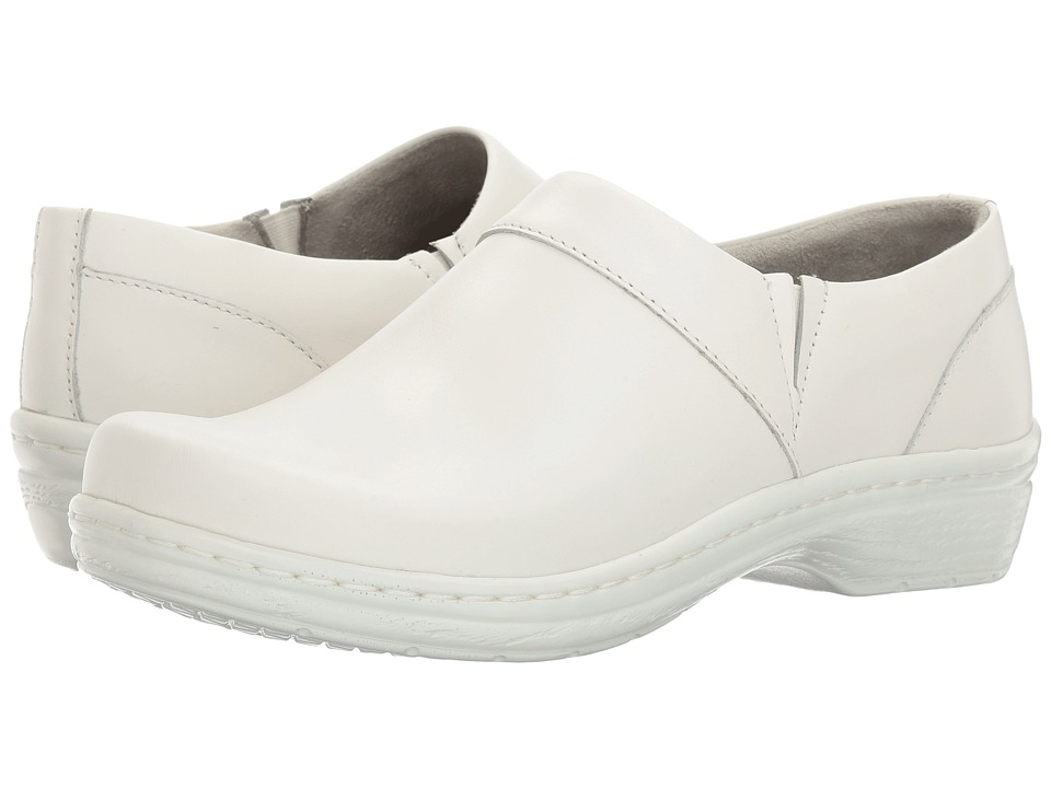 Klogs Footwear Mission (White Smooth Leather) Clogs