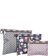 LeSportsac - 3 Pack of Pouches