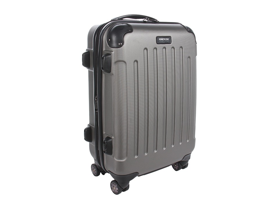 Kenneth Cole Reaction - Renegade - 20 Expandable 8-Wheeled Upright/ Carry-On (Silver) Pullman Luggage