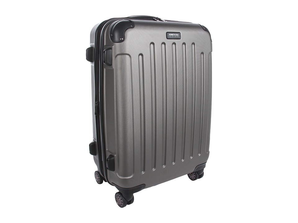 Kenneth Cole Reaction - Renegade - 24 Expandable 8-Wheeled Upright Pullman (Silver) Pullman Luggage