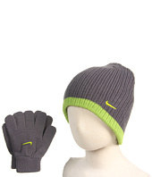 Nike Kids - Beanie and Glove Rib Knit Set (Big Kids)