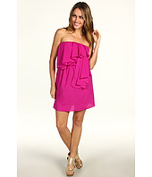 Tbags Los Angeles - Ruffle Strapless Mini Dress