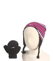 Nike Kids - Stripe Beanie and Mitten Set (Infant/Toddler)