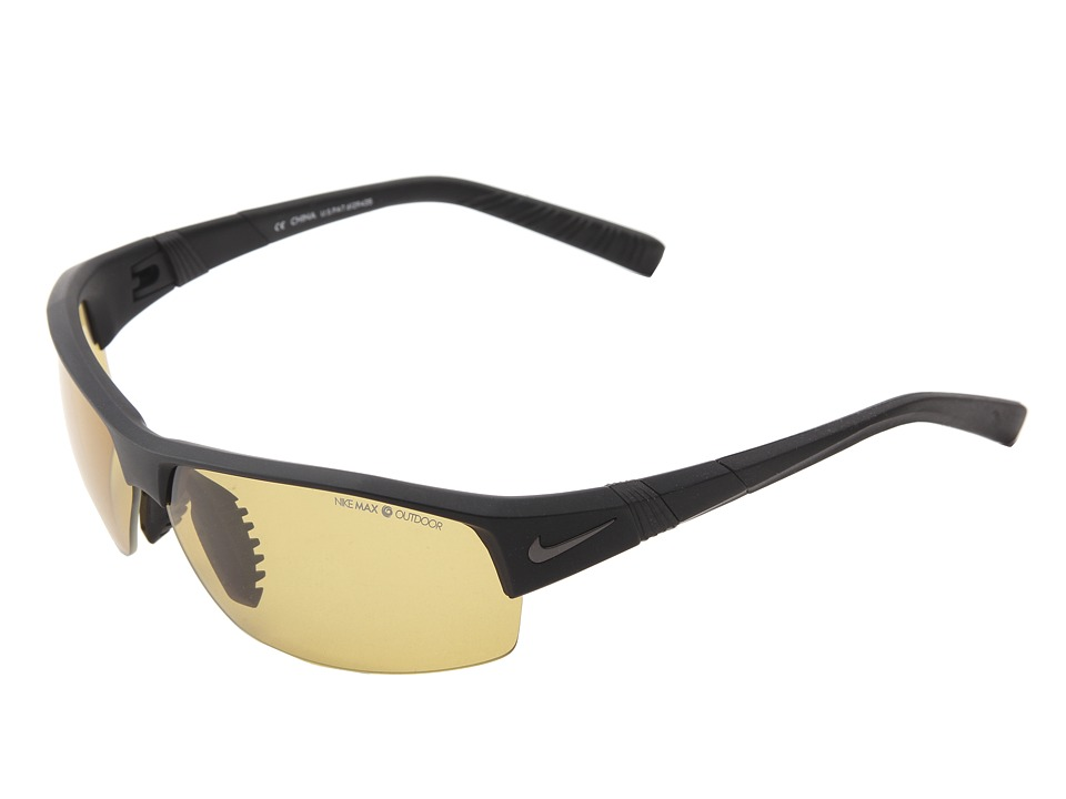 Nike - Show X2 (Matte Black/Max Transitions Outdoor Lens) Sport Sunglasses