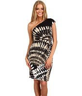 Donna Morgan - One Shoulder Side Draped Dress
