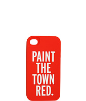 Kate Spade New York - Paint the Town Red Silicone Case for iPhone® 4