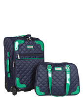 Beverly Hills Country Club - Beverly Hills Country Club 2-Piece Quilted Carry-on Luggage Set