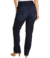 Jag Jeans Plus Size - Plus Size Peri Pull-On Straight in Blue Shadow