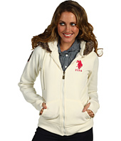 U.S. Polo Assn - Sherpa Lined Fleece Hooded Jacket