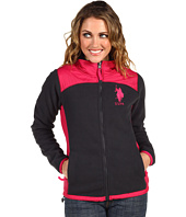 U.S. Polo Assn - Colorblocked Fleece w/Sherpa Lining